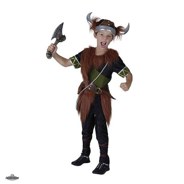 Viking kostume dreng